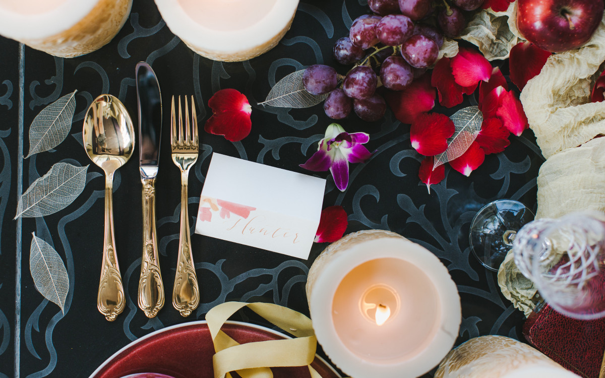 Styled Shoot / Bali Gold